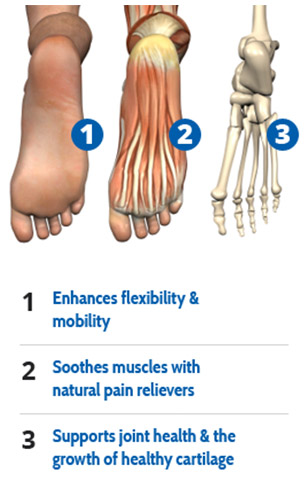 See the results it has on the joints in your foot